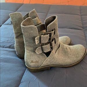 EUC Blowfish Buckle Boots